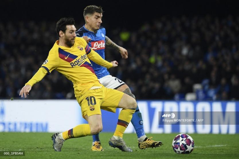 Barcelona logró valioso empate ante el Nápoli y queda más cerca de los cuartos de Champions