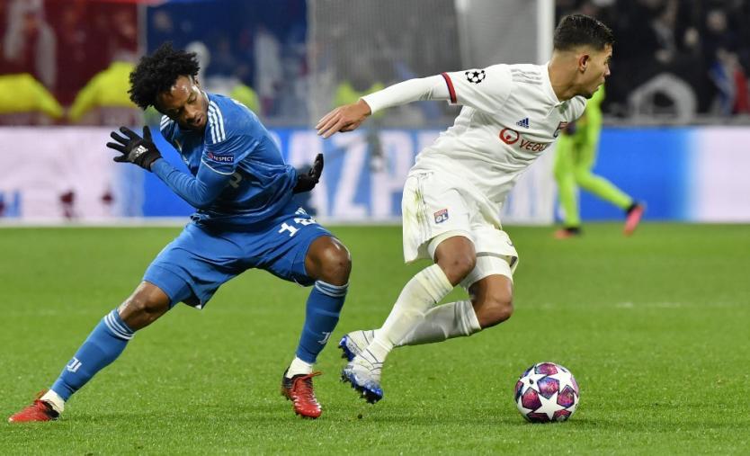 Lyon dio el golpe y venció a la Juventus en octavos de la Champions