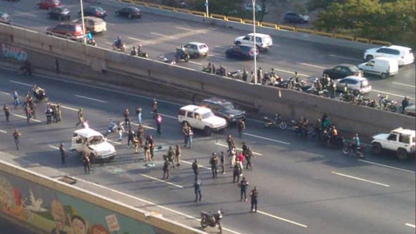 Tiroteo en Caracas deja tres secuestradores muertos