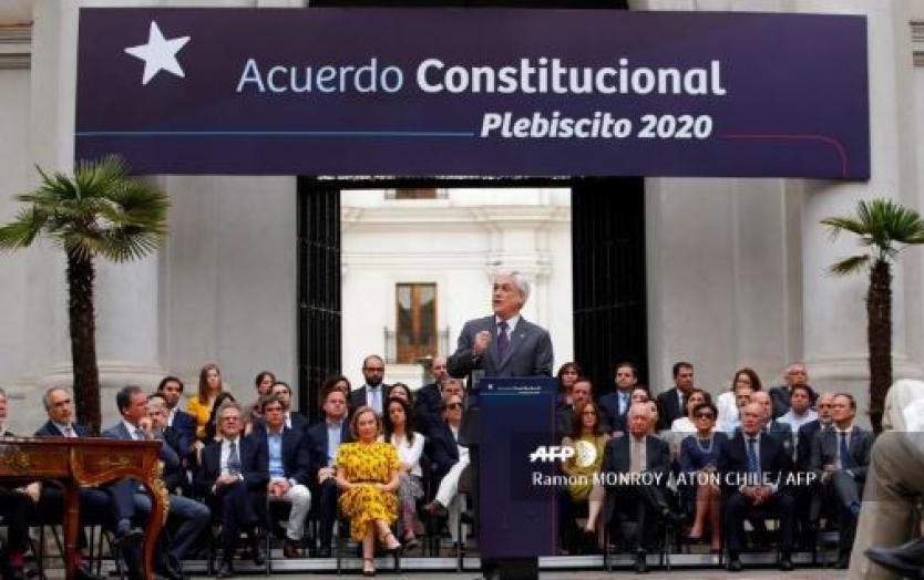 Arranca en Chile campaña por plebiscito que decidirá futuro de la Constitución de Pinochet