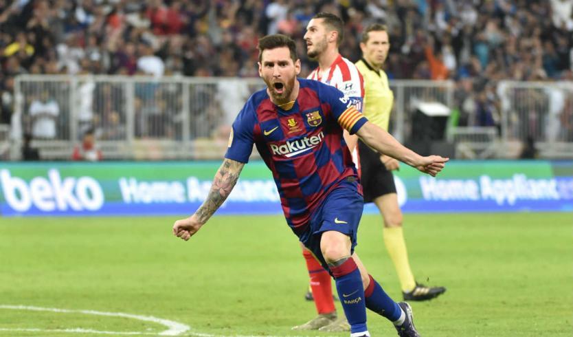 Messi anotó ante el Valladolid y superó el registro de Pelé