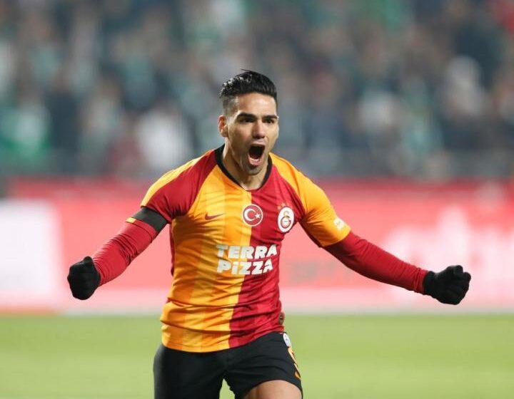 Falcao anotó gol en la victoria del Galatasaray