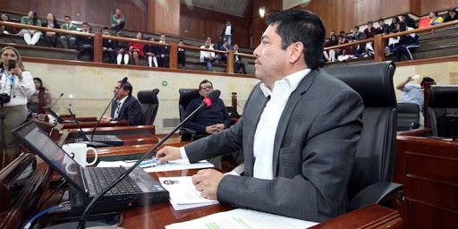 Hermes Villamil, diputado del Cundinamarca y el plan de desarrollo departamental.