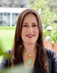 Maria del Pilar Noriega, secretaria de educación y la política de formación superior para los jóvenes del departamento de Cundinamarca.