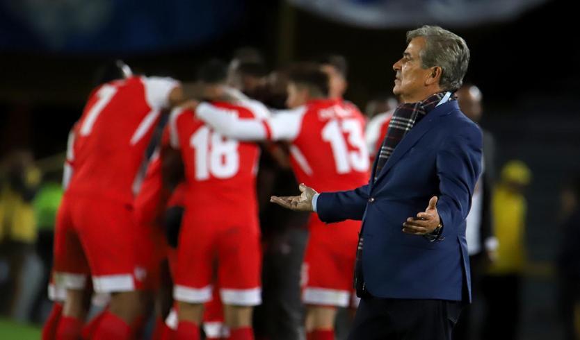 Jorge Luis Pinto, nuevo técnico de la Selección de Emiratos Árabes