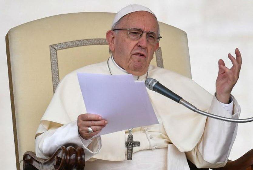 Papa Francisco le pide a los líderes a proteger el planeta: «Estamos en el límite»
