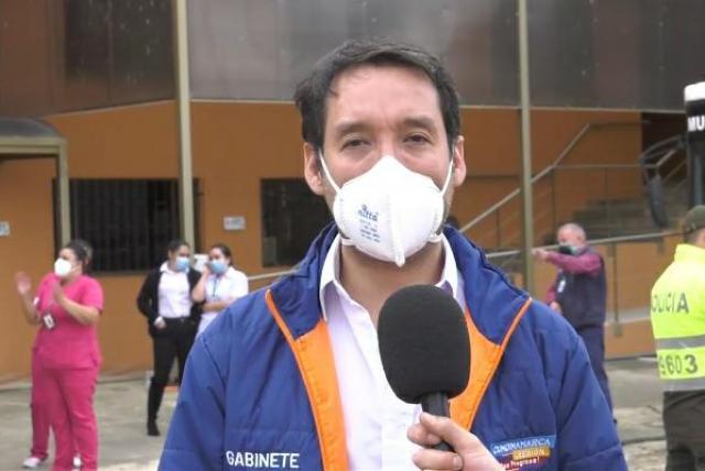 Diego García, Gerente de emergencias de la Gobernación de Cundinamarca y su enfoque del manejo del Covid 19.