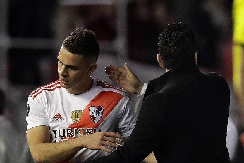 Rafael Santos Borré saldría de River Plate rumbo al fútbol de Europa