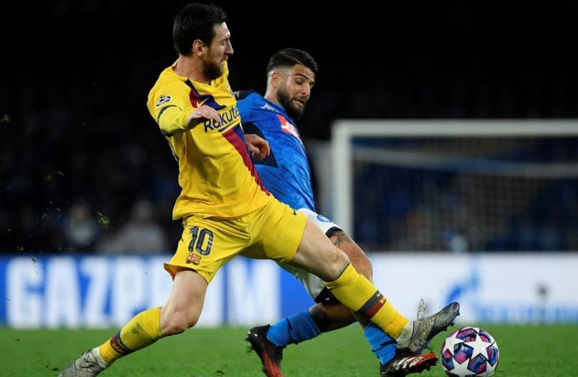 Barcelona dice estar listo para el partido ante el Napoli en el Camp Nou