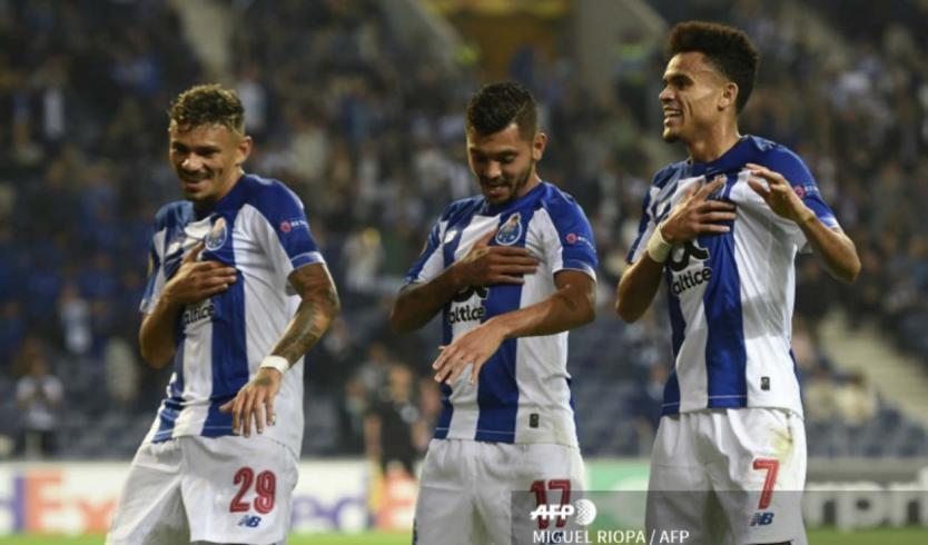 Porto ganó y toca el título en la liga de Portugal