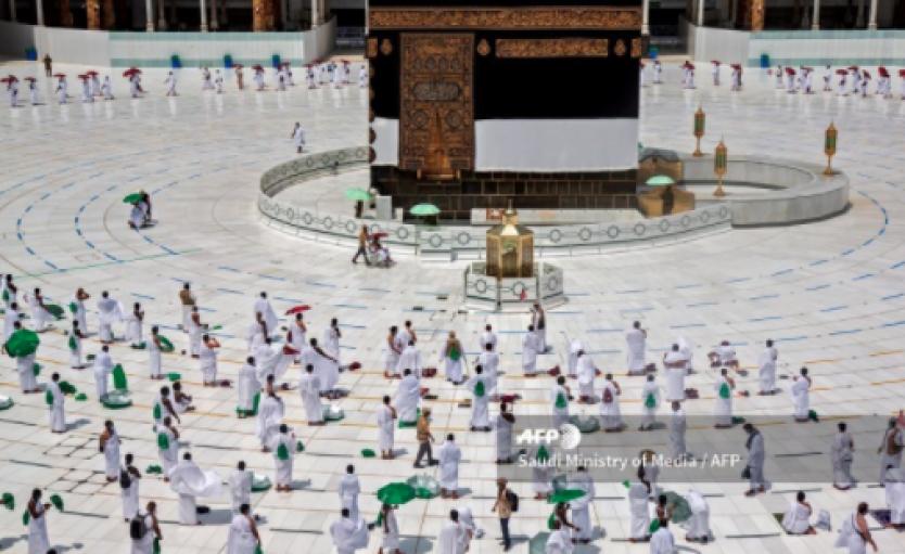 Empieza la gran peregrinación a La Meca, con restricciones sanitarias