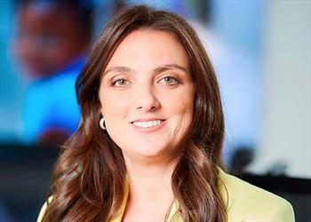 Karen Abudinen , Ministra de Las TIC y la meta de conectividad de los hogares de Colombia.