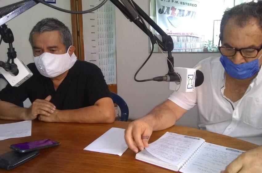 Ancizar Tovar, gerente de la empresa de servicios públicos y las acciones tendientes al suministro de agua a los habitantes del municpio.