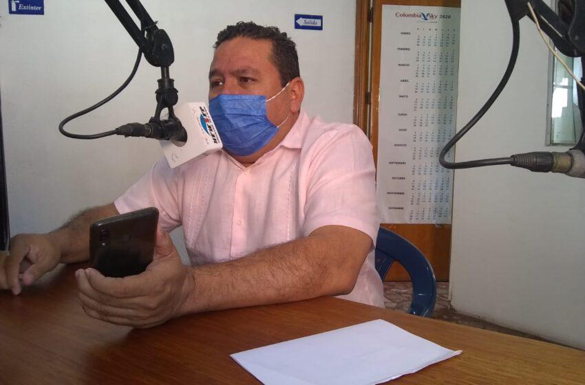 Fredy Hernández, Alcalde de Villeta y su enfático llamado a la comunidad para que acate las medidas de bioseguridad.