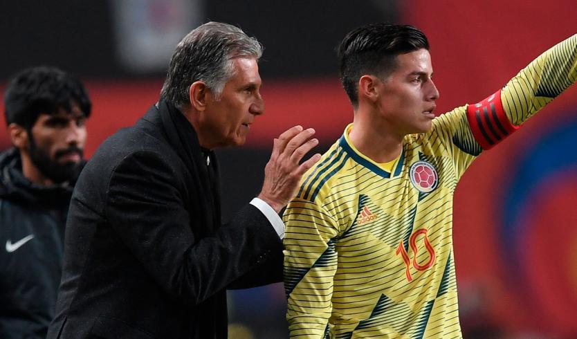 Carlos Queiroz se reunió virtualmente con 45 jugadores de la Selección Colombia