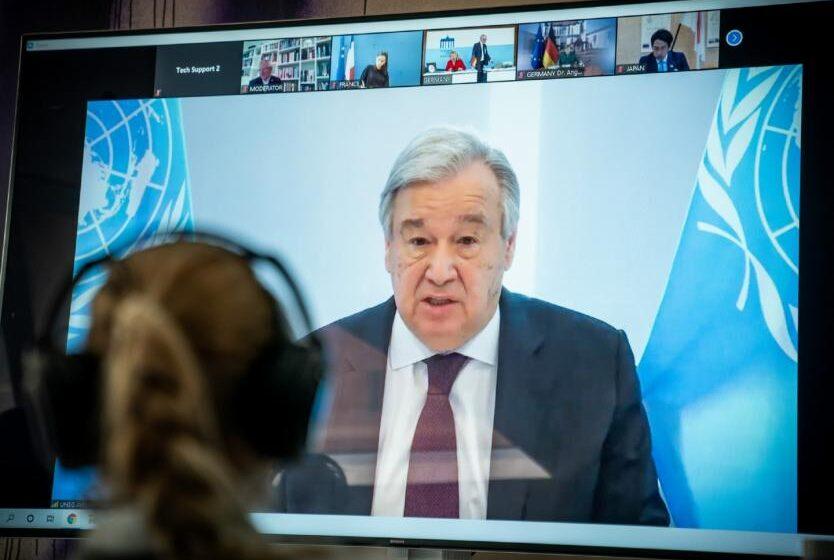 El coronavirus es la amenaza de seguridad global número uno: Antonio Guterres