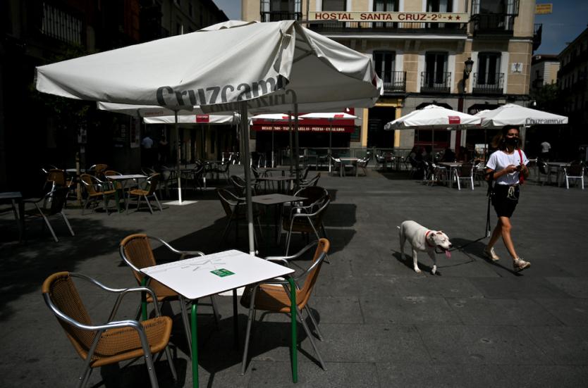 En Madrid, España, restringen la movilidad en zonas afectadas por el coronavirus
