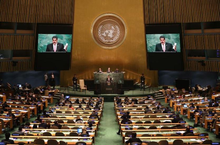 Maduro reitera a la ONU su invitación para que acompañe las elecciones legislativas