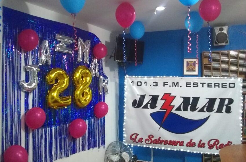 Jazmar Estéreo, 14 de Noviembre, 28 Años de Vida y de Servicio.
