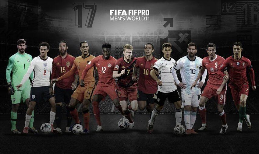 FIFA publicó su once ideal del 2020 en los premios The Best y abrió la polémica