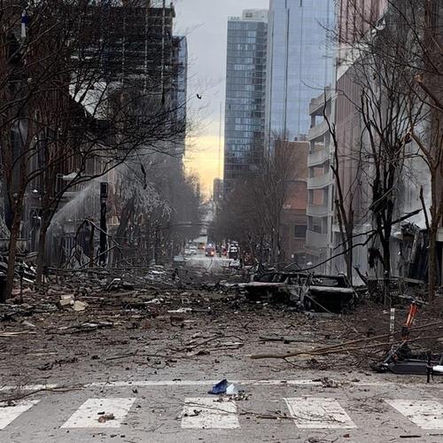 Policía investiga una fuerte explosión en el centro de Nashville (EE.UU.)