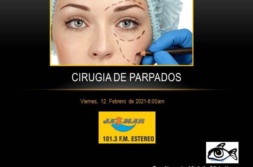 Alexandra Mieth en ama tus ojos, el tema de hoy, cirugía de parpados.