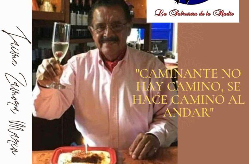 Con profunda tristeza, lamentamos informar a ustedes el fallecimiento de nuestro gerente periodista Jaime Zamora Marín.
