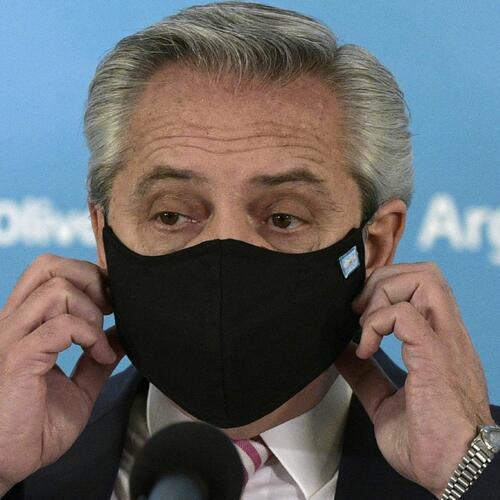 Presidente de Argentina se contagió de covid-19 y es asintomático por vacuna