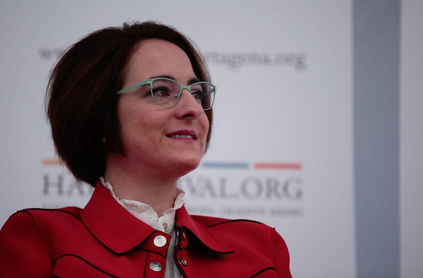 Amalia Pombo, directora de artes del Ministerio de Cultura.