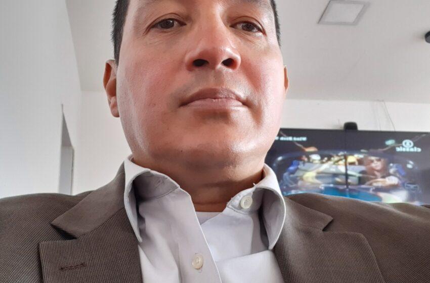Leonardo Ramírez, técnico ETV de la secretaria de salud de Cundinamarca.