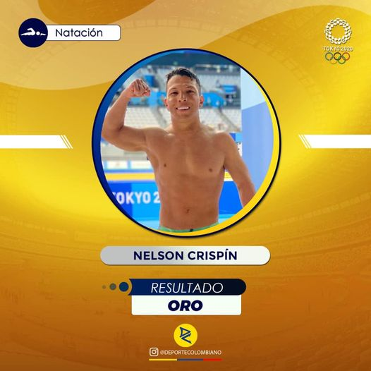 Medalla de oro para Colombia en los Juegos Paralimpicos de Tokio.