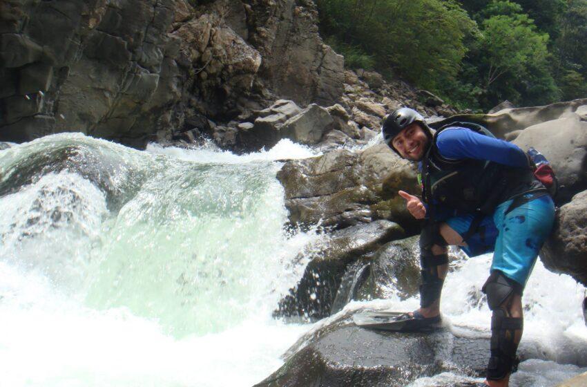 Juan Manuel Pinzón, coordinador de turismo de Nimaima Cundimarca y la promoción de los deportes de aventura.