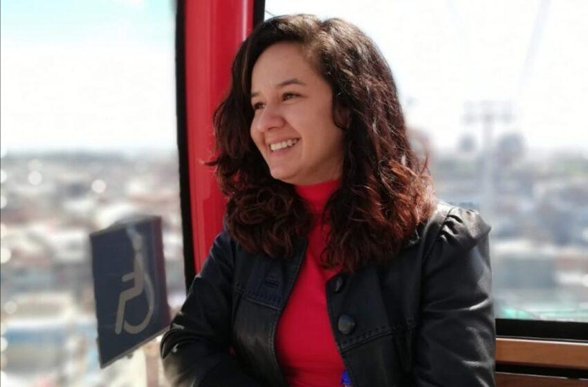 Natalia Bocanegra, profesional del la oficina de gestión social de la secretaría distrital de movilidad de Bogotá.